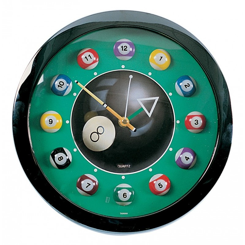 Reloj Bola 8 con 12 Bolas