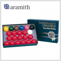 Bolas Snooker Aramith Tournament Champion - 52,4mm