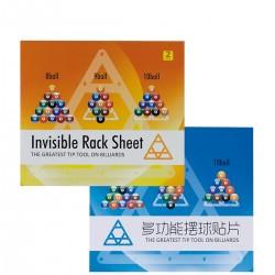 Plantilla Adhesiva Invisible Rack para Bola 8/9/10