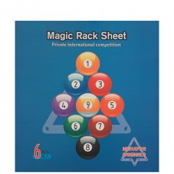 Plantilla Magic Rack Sheet Bola 9/10 - 6 plantillas