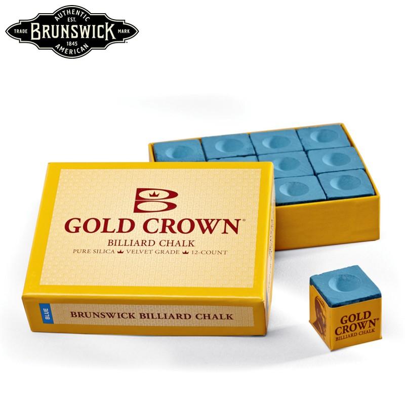 Caja de 12 Tizas Brunswick Gold Crown