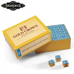 Caja de 144 Tizas Brunswick Gold Crown