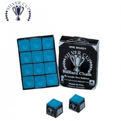 Caja de 12 Tizas Silver Cup Azul