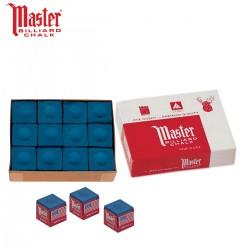 Caja de 12 Tizas Master Azul