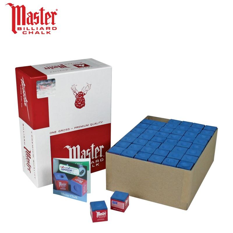 Caja de 144 Tizas Master Azul