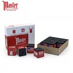 Caja de 12 Tizas Master Negra