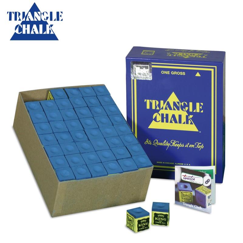 Caja de 144 Tizas Triangle Azul