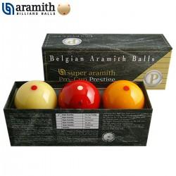 Bolas Carambola Super Aramith Prestige Pro-Cup - 61,5mm