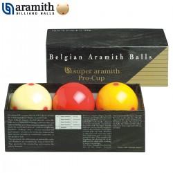 Bolas Carambola Super Aramith Pro-Cup - 61,5mm