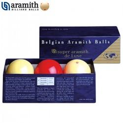 Bolas Carambola Super Aramith DeLuxe - 61,5mm