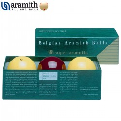 Bolas Carambola Super Aramith Traditional - 61,5mm