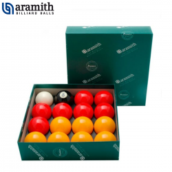 Bolas Pool Ingles Aramith Premier - 57,2mm